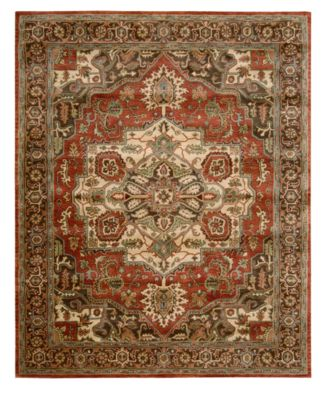 "Area Rug, Jaipur JA36 Red 8' 3""x 11' 6"""