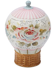 Certified International Beautiful Romance Balloon Cookie Jar