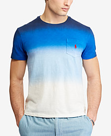 Polo Ralph Lauren Men's Ombré Custom Slim Fit Jersey Pocket T-Shirt