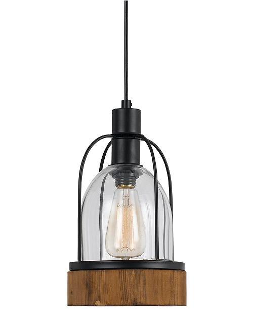 Cal Lighting Beacon Glass Pendant