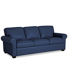 "Orid 84"" Leather Sofa, Created for Macy's"
