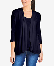 NY Collection 3/4-Sleeve Cardigan