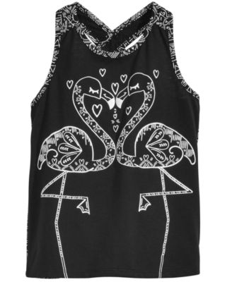 Little Girls Flamingo Kiss Tank Top, Created for Macy's