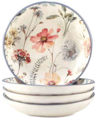 4-Pc. Country Weekend Pasta Bowls Set