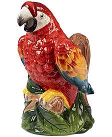 Certified International Paradise 3-D Parrot Pitcher