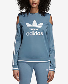 adidas Originals Active Icons Cold-Shoulder Sweatshirt