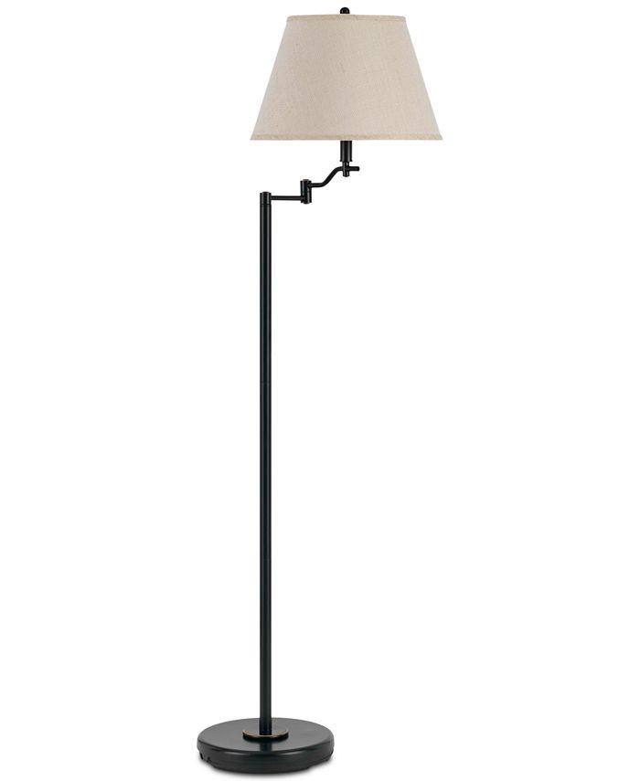 Cal Lighting - 150W 3-Way Dana Swing Arm Floor Lamp