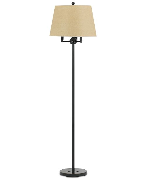 Cal Lighting 150W 3-Way, 40WX3, Andros Floor Lamp