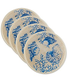 Certified International Seaside Dinner Plates, Set of 4