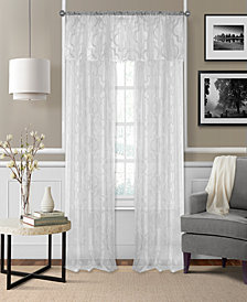 "Elrene Montego 52"" x 95"" Sheer Burnout Window Panel"