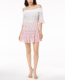 GUESS Nissi Ombré Lace Dress