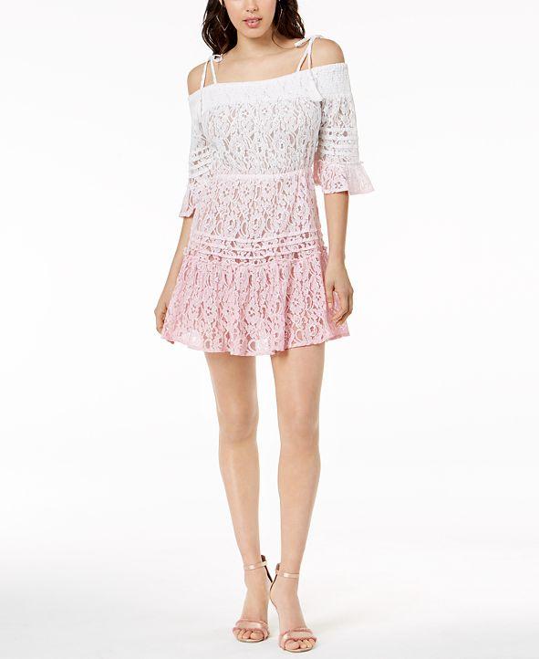 GUESS Nissi Ombré Lace Dress