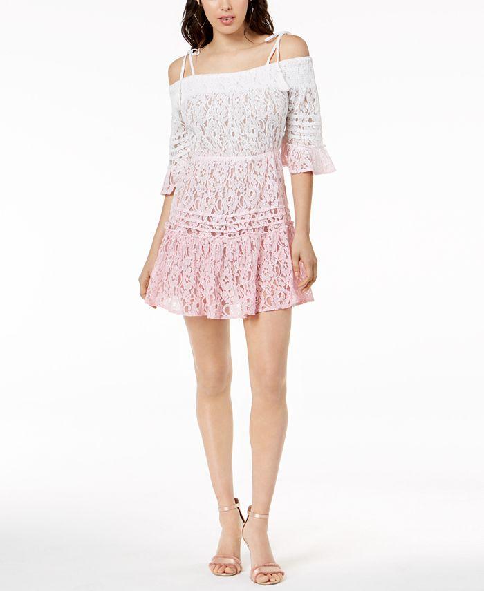 GUESS - Nissi Ombré Lace Dress