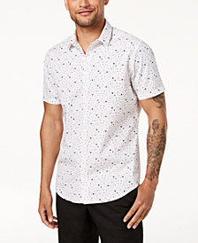 I.N.C. Men's Printed Shirt, Created for Macy's