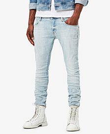 G-Star RAW Men's Super-Slim Fit Stretch Deconstructed Jeans
