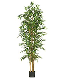 "Nearly Natural 75"" Artificial Bamboo Tree"