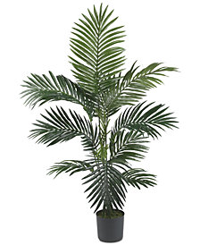 Nearly Natural 4' Artificial Kentia Palm Silk Tree