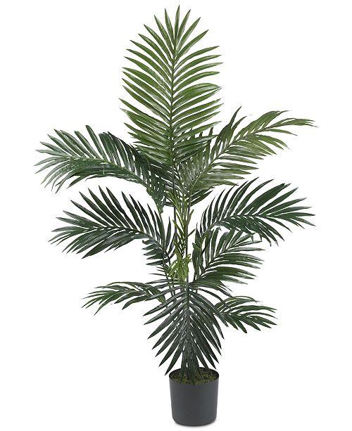 Nearly Natural 4' Artificial Kentia Palm Silk Tree