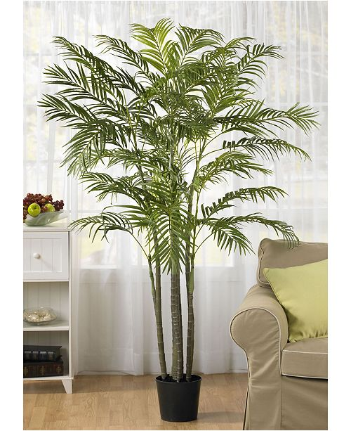 Nearly Natural 6' Artificial Areca Palm Tree