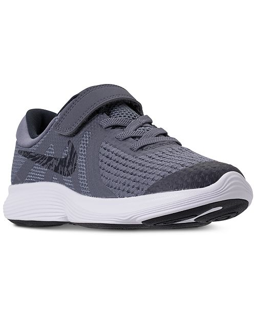 4fbeb99f7548 Nike Little Boys  Revolution 4 Athletic Sneakers from Finish Line ...