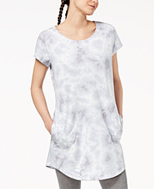 Ideology Printed Strappy-Back Tunic, Created for Macy's