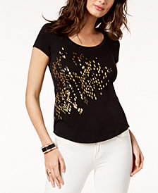 Thalia Sodi Graphic-Print T-Shirt, Created for Macy's