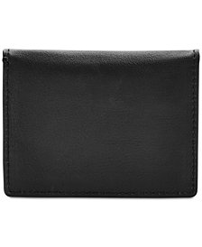Fossil Men's Ellis Leather Magnetic Folded Card Case