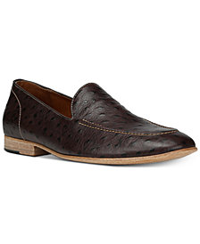 Donald Pliner Men's Mathis Ostrich Embossed Loafers