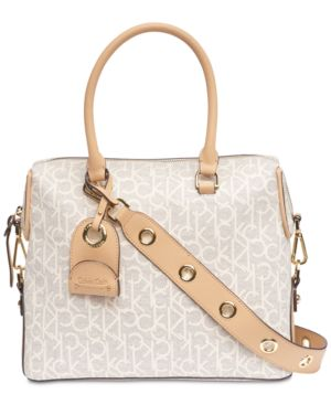 SABRINA SIGNATURE SATCHEL