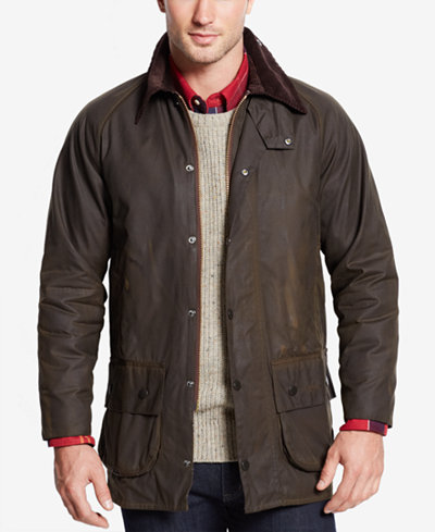 Barbour Men S Beaufort Waxed Jacket Coats Amp Jackets