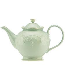 Lenox Dinnerware, French Perle Teapot
