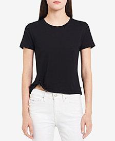 Calvin Klein Jeans Twist-Hem Detail T-Shirt