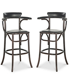 Polian Bar Stool (Set Of 2), Quick Ship
