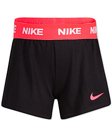 Nike Striped Sport Essentials Dri-FIT Shorts, Little Girls