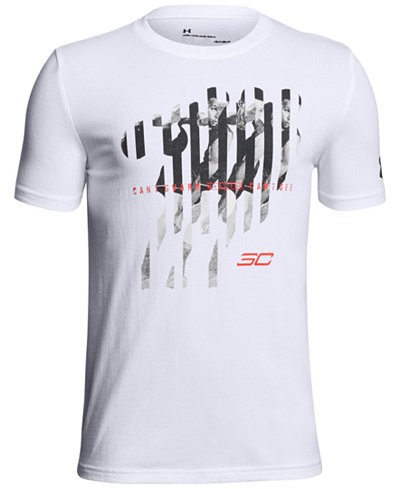 Under Armour Big Boys SC30-Print T-Shirt