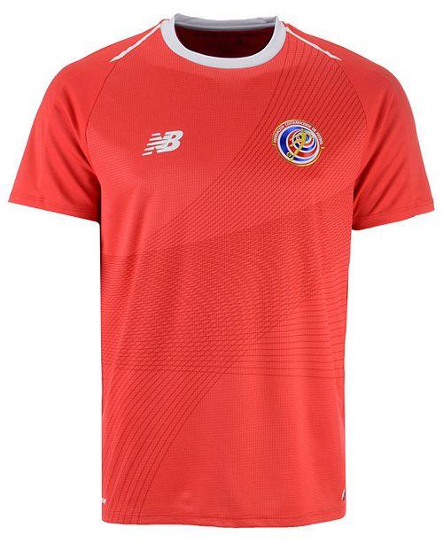 New Balance Men's Costa Rica National Team Home Stadium Jersey