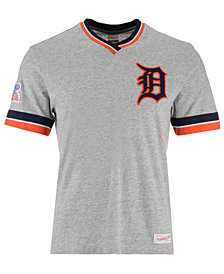 Mitchell & Ness Men's Detroit Tigers Coop Overtime Vintage T-shirt