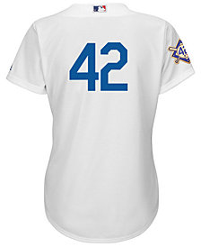 Majestic Women's Jackie Robinson Los Angeles Dodgers Replica Jersey