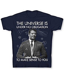 Changes Men's Neil DeGrasse Tyson Universe T-Shirt