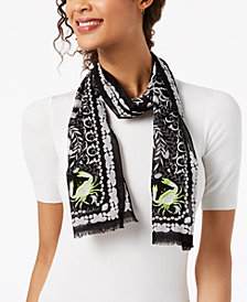 Echo Sea Life Cotton Bandana Scarf