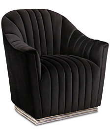 Lannes Tufted Chair, Quick Ship