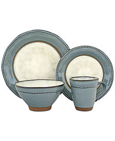 Sango Centrics Emerald 16-Pc. Dinnerware Set