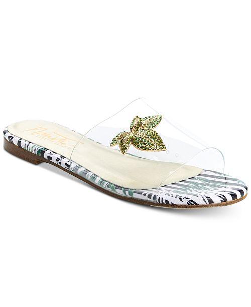 Nanette Lepore Nanette by Veronica Slide Sandals Women's Shoes bBrooqE