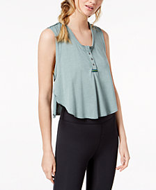 Free People FP Movement High Tide Cropped Tank Top