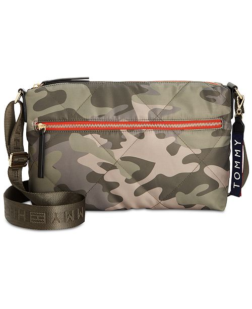 f25d8ab4f9 Tommy Hilfiger Kensington Camo Quilted Nylon Crossbody   Reviews