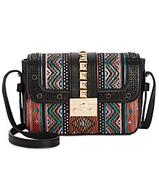 I.N.C. Faany Pyramid Stud Crossbody, Created for Macy's