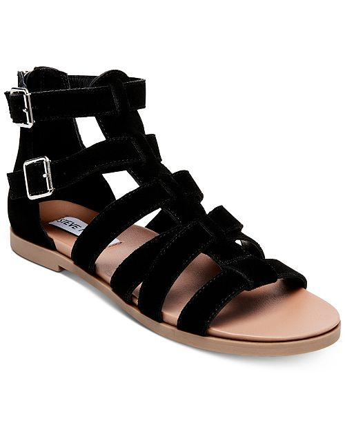 0c1e532fd58d Steve Madden Women s Diver Gladiator Sandals   Reviews - Sandals ...