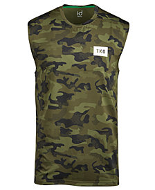ID Ideology Men's Camo TKO Sleeveless T-Shirt, Created for Macy's