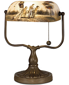 Dale Tiffany Golf Handale Desk Lamp