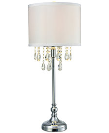 Dale Tiffany Heidi Crystal Table Lamp